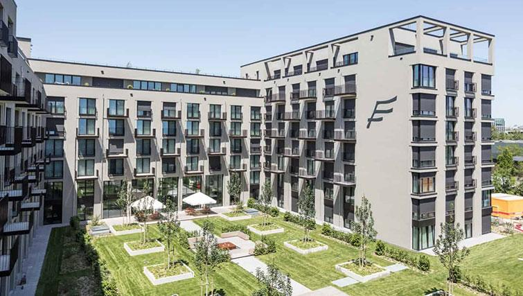 View of outdoor area at THE FLAG München Apartments