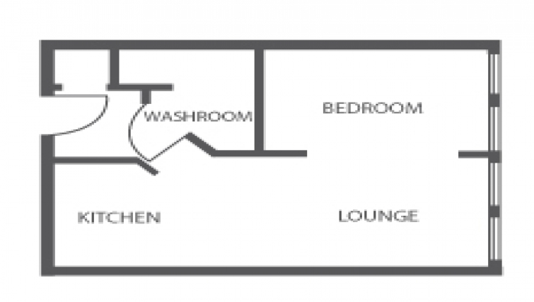 City Wall House floor plan