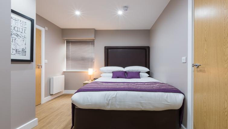 Large bedroom at City Wall House