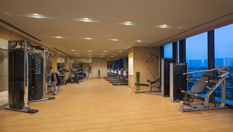 Gym at Somerset Baitang Suzhou Apartments