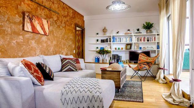 Living area at Atic Eloi Apartment