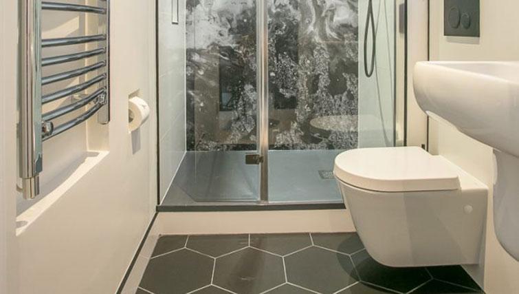 Bathroom at Grafton House Apartments