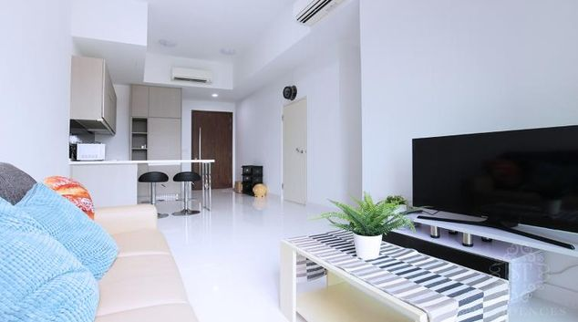 Living room at Newest Apartments, Singapore