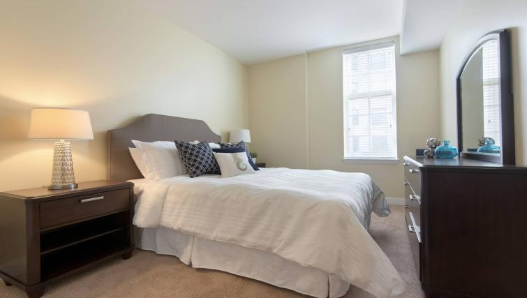 Bedroom at Nch Garrison Square Apartment