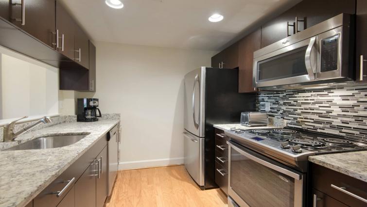 Kitchen at Nch Garrison Square Apartment