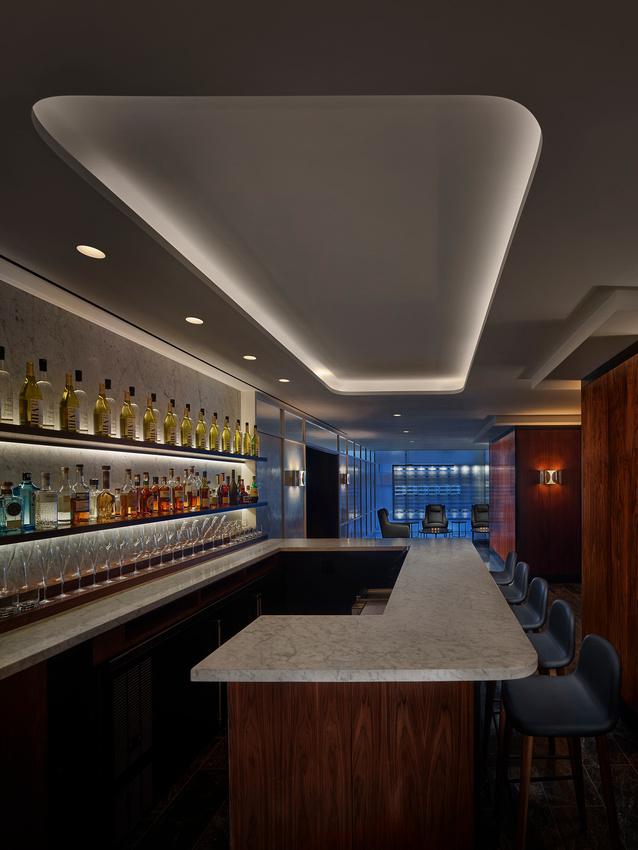 Bar/lounge at AKA Central Park, Midtown East, New York