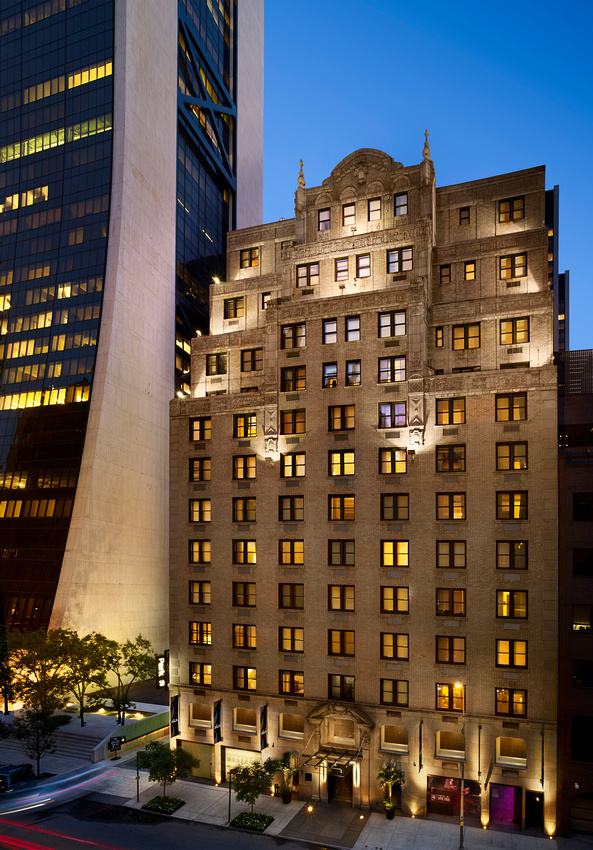 Building at AKA Central Park, Midtown East, New York