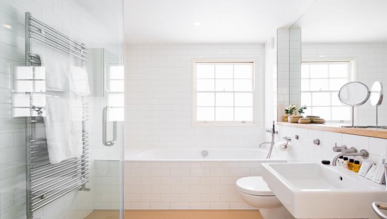 Bathroom at the Chelsea Villa Apartment