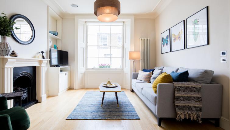 Living room at the Chelsea Villa Apartment