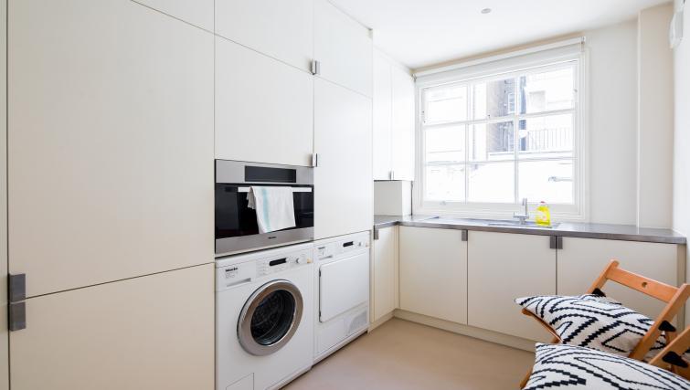 Kitchen at the Chelsea Villa Apartment