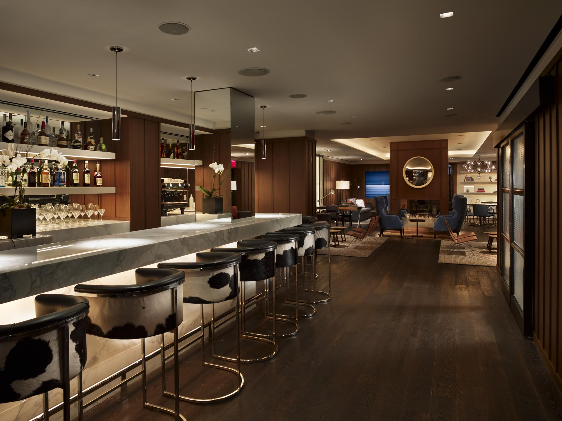 Bar at AKA Sutton Place, Midtown East, New York