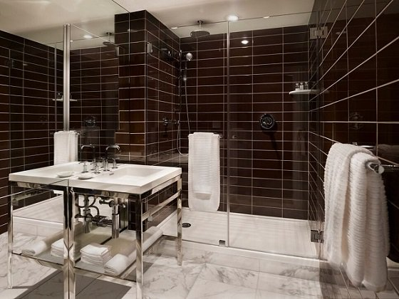 Bathroom at AKA Sutton Place, Midtown East, New York