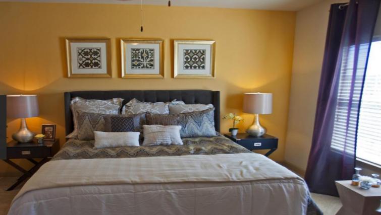 Bedroom at the Gables Grandview Apartments