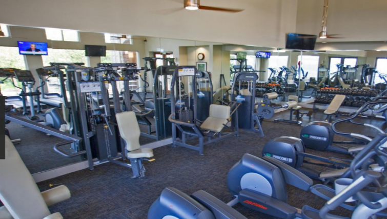 Gym at the Gables Grandview Apartments