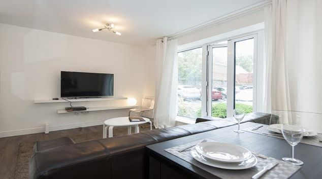 Living room at Eastmoreland Court Serviced Apartment