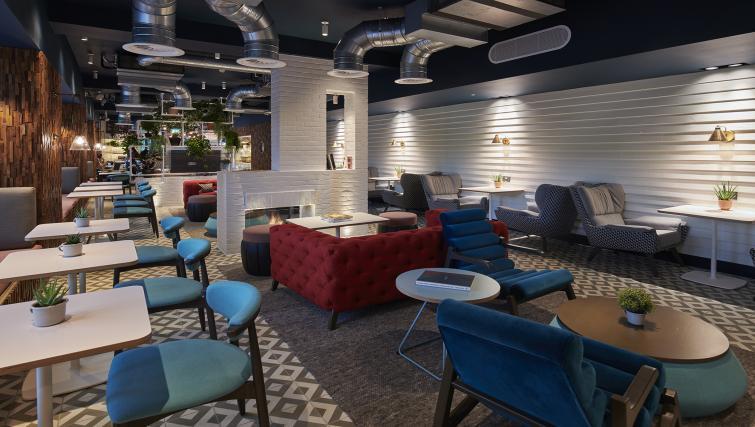 Lounge at room2 Southampton