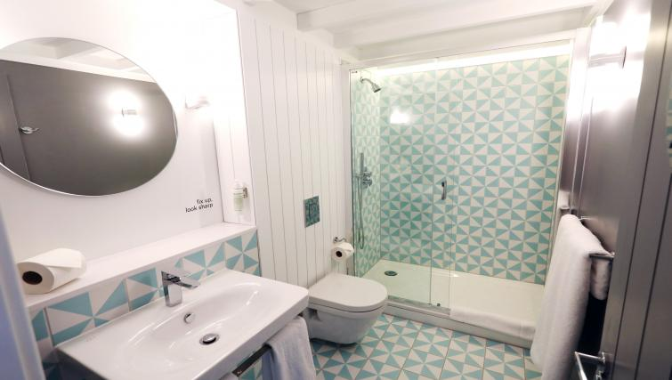 Bathroom at room2 Southampton