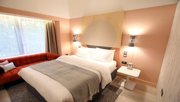 Bedroom at room2 Southampton