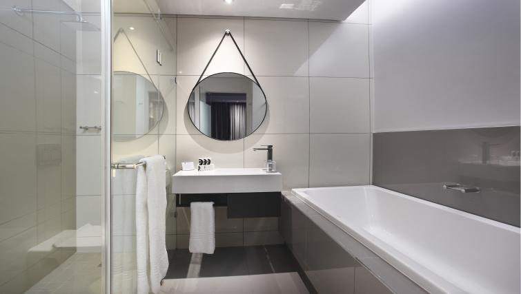 Bathroom at On The Park Apartments