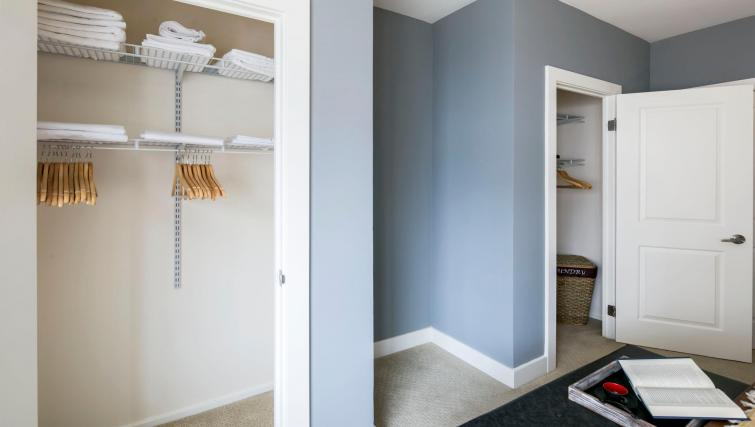 Storage at 899 Pine Street Serviced Apartments