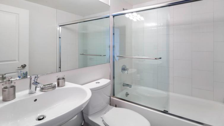 Bathroom at 899 Pine Street Serviced Apartments