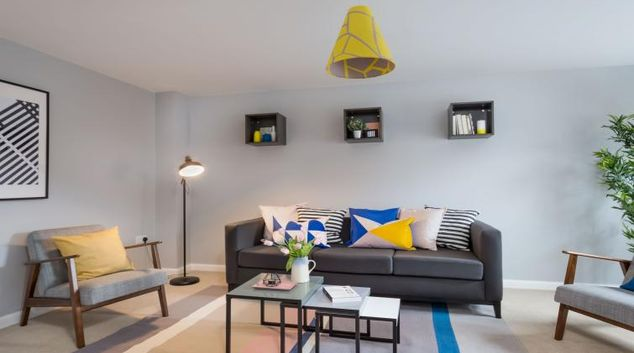 Living room at Coventry Scandi House