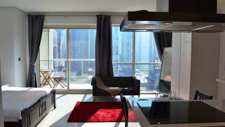 Studio at West Avenue Tower Apartments
