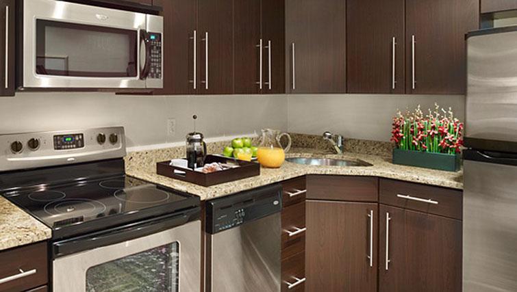 Kitchen at AKA Rittenhouse Square