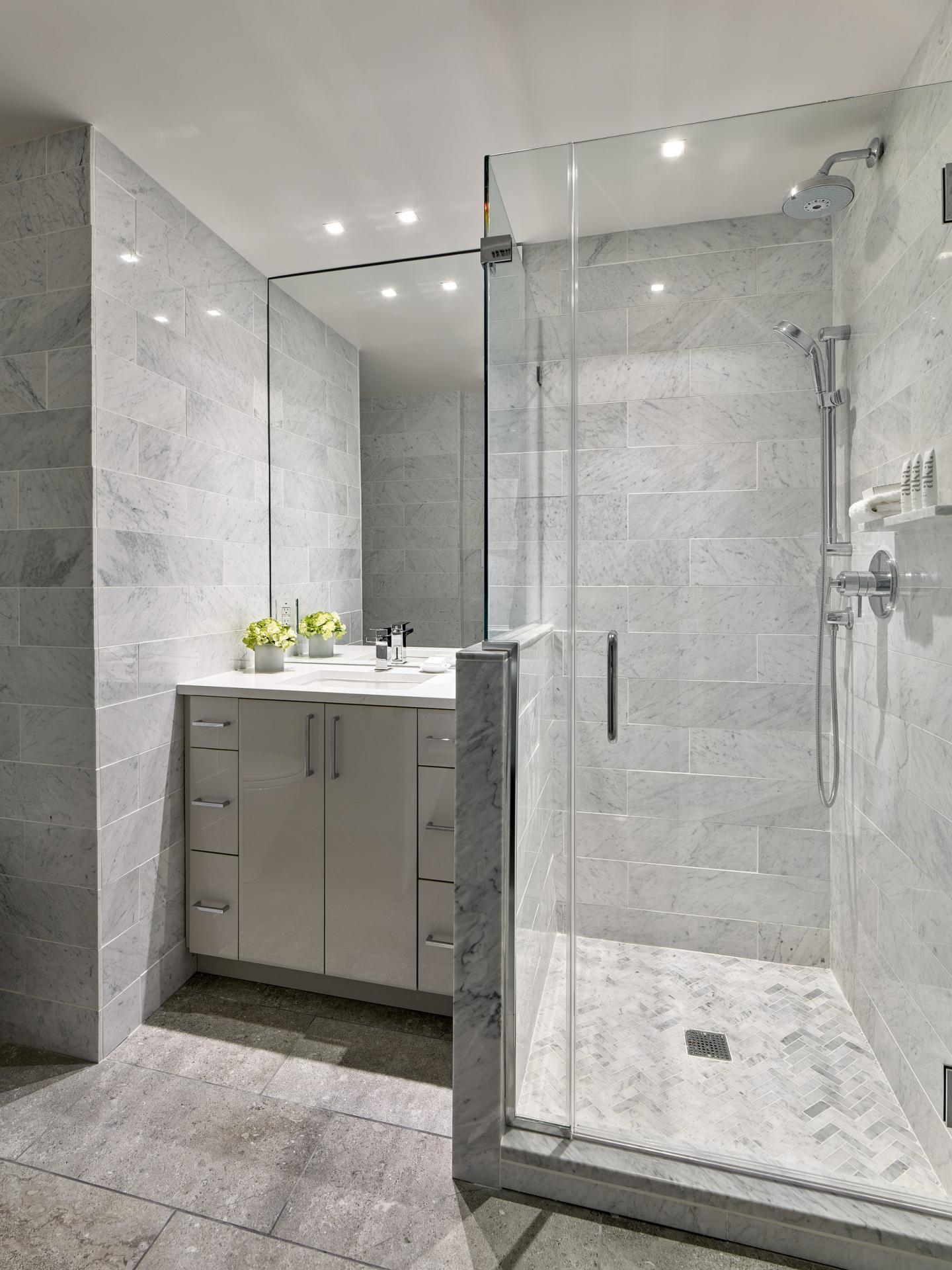 Bathroom at AKA Rittenhouse Square