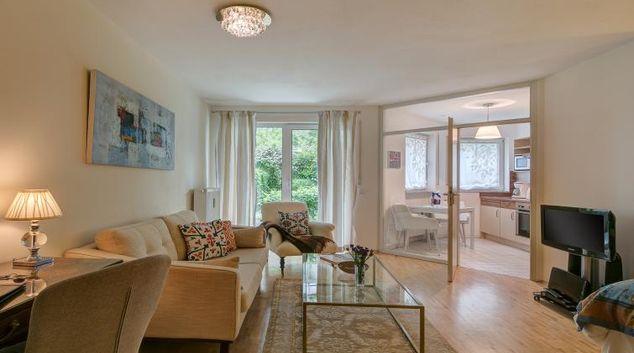 Gorgeous living room in Viktorias Apartment
