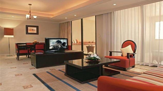 Lounge at the Arjaan Dubai Media City Apartments