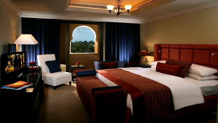 Bedroom at the Arjaan Dubai Media City Apartments