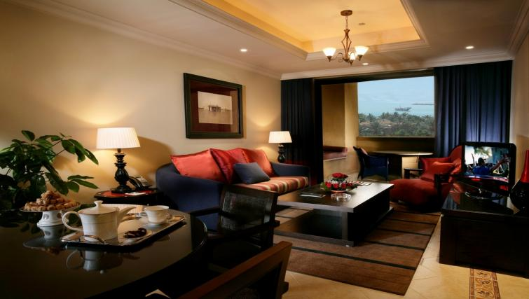 Living area at the Arjaan Dubai Media City Apartments