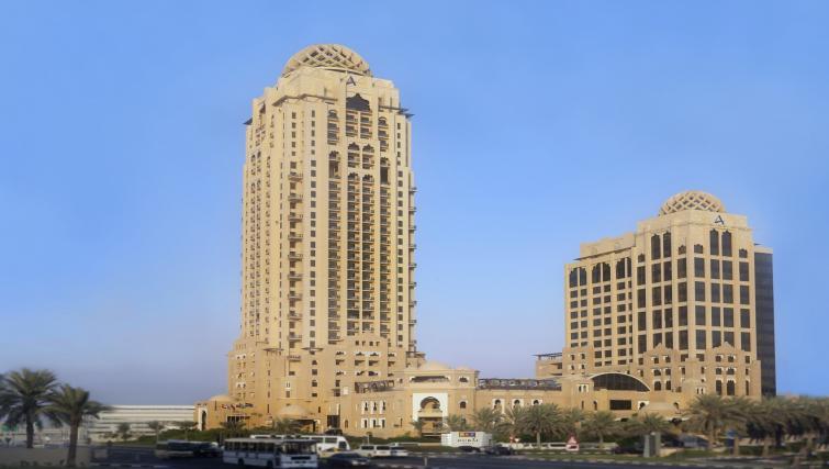 Exterior at the Arjaan Dubai Media City Apartments