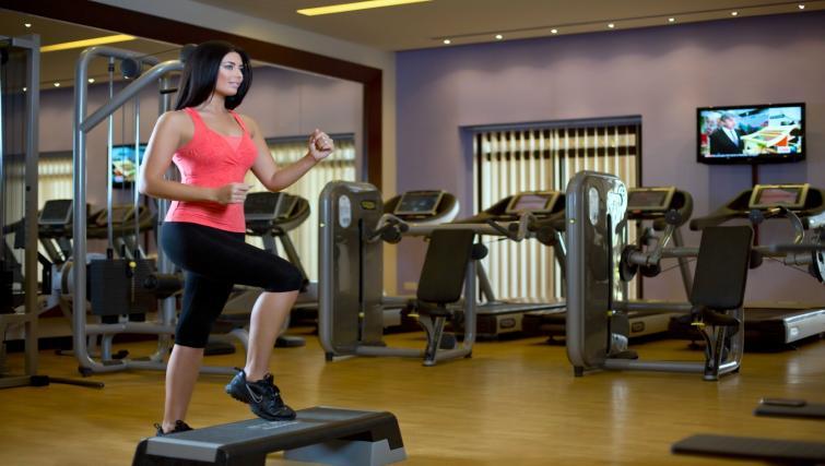 Gym at the Arjaan Dubai Media City Apartments