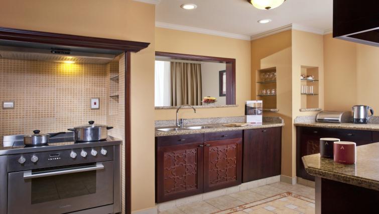 Bathroom at the Arjaan Dubai Media City Apartments