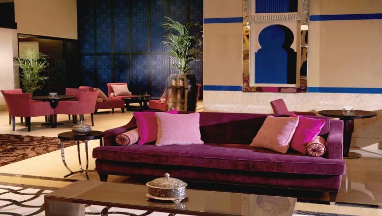 Communal lobby at the Arjaan Dubai Media City Apartments