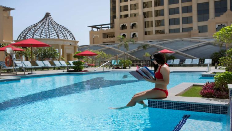 Pool at the Arjaan Dubai Media City Apartments