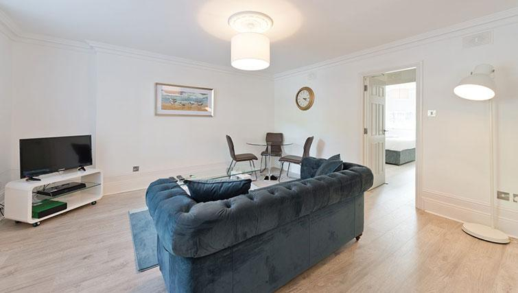 Sofa at Suesey Place Apartments