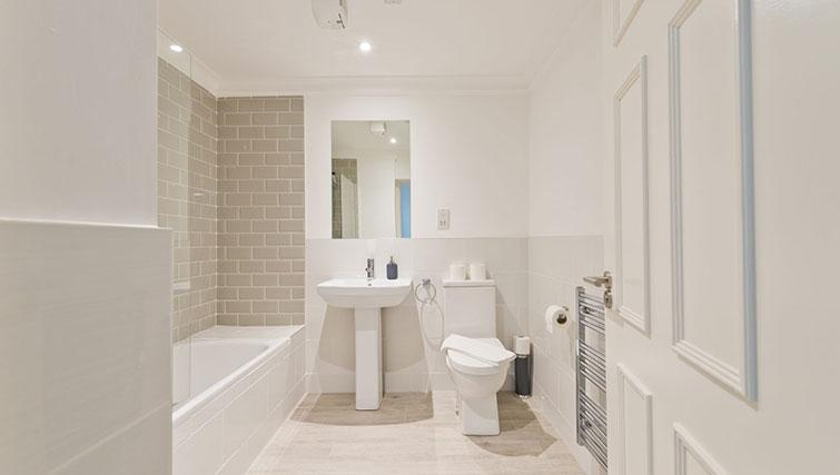 Bathroom at Suesey Place Apartments