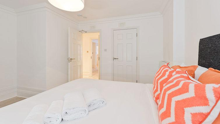 Double bedroom at Suesey Place Apartments