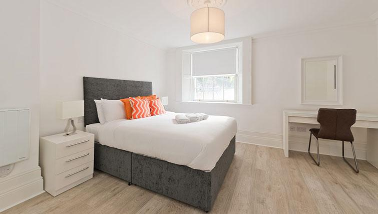 Bedroom at Suesey Place Apartments