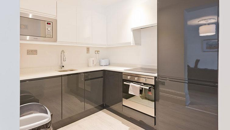 Kitchen at Suesey Place Apartments