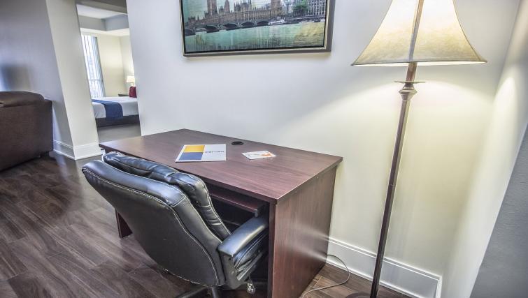 Desk at Republic Serviced Apartments