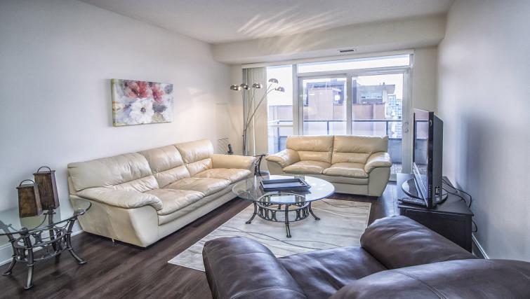 Living room at Republic Serviced Apartments