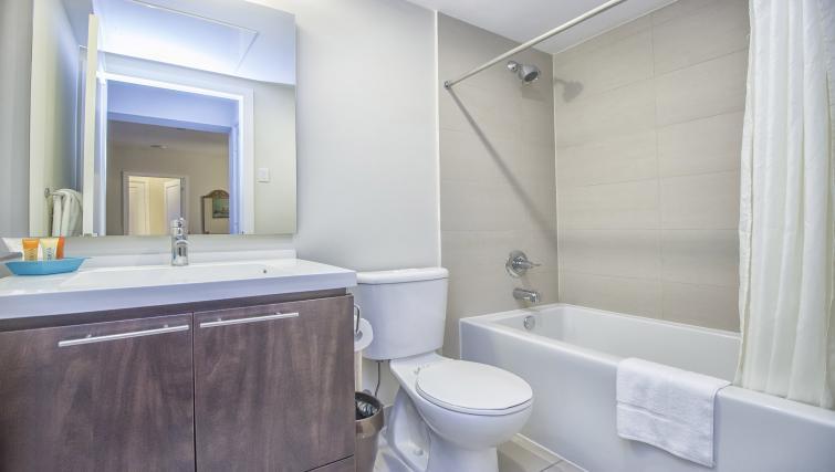 Bathroom at Republic Serviced Apartments