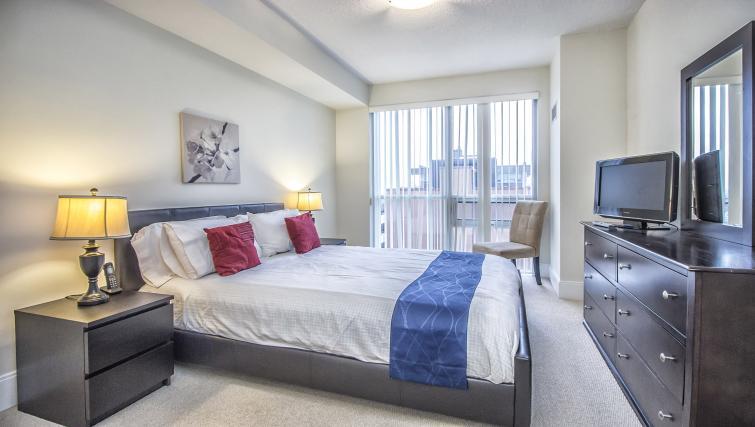 Bedroom at Republic Serviced Apartments