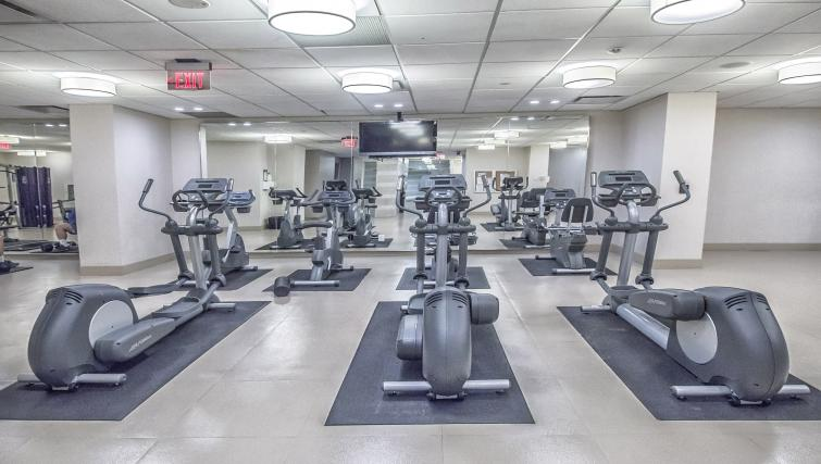 Gym at Republic Serviced Apartments