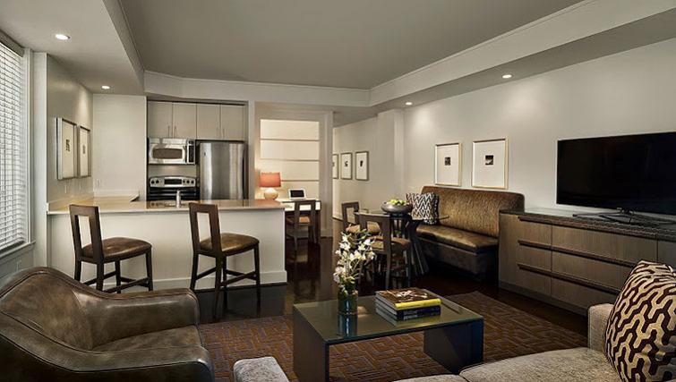 Living area in AKA White House