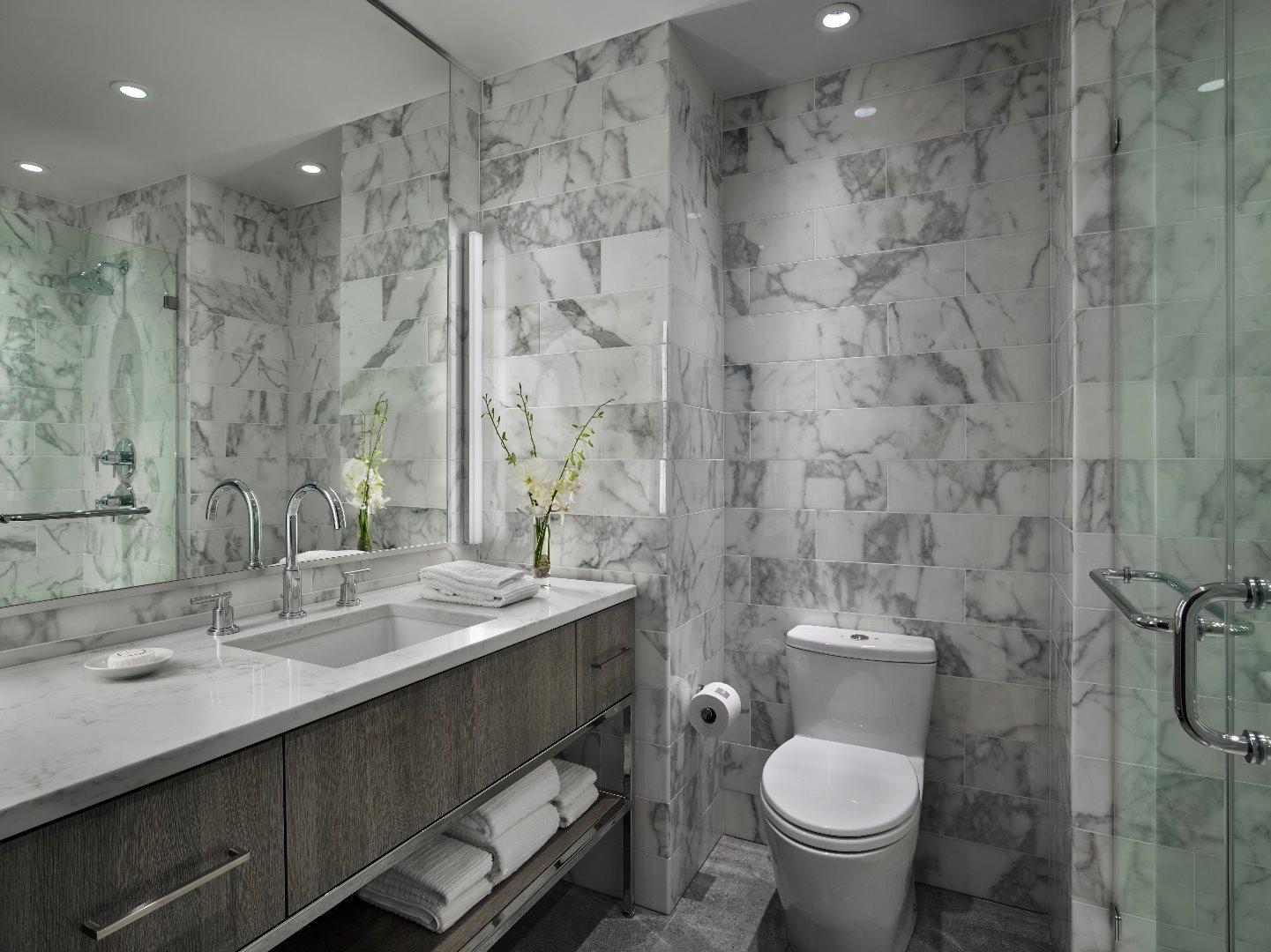 Bathroom at AKA White House, Centre, Washington DC